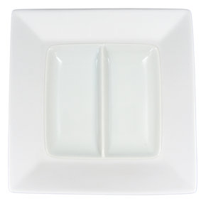 Tallrik Kvadrat + Minifat 2-delad - 16 delar
