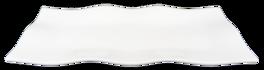 Andra sortering: Rektangulär Tallrik - Vågor 4-Pack