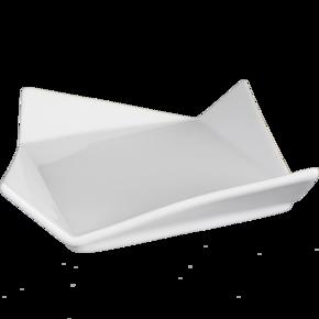 Fyndvara: Assiett med veck 5-pack