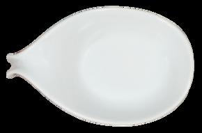 Skedformad skål med böjt handtag