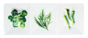 Skål 3-delad -Grönsaker
