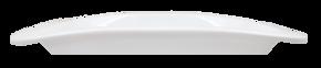 Rektangulär Tallrik -Bågformad upphöjd kant