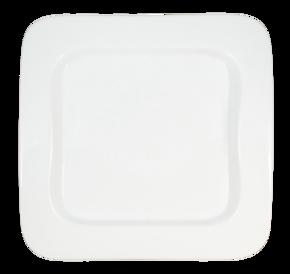 Fyrkantig - Bågformad upphöjd kant - Assiett