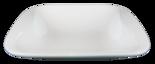 Fyrkantig - Rundad innerkant Djup - Assiett
