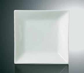 Andra sortering: Fyrkantig - Traditionell - Tallrik - Hög Kant 4-Pack