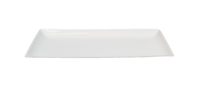Rektangulär Tallrik -Mjukformad kant Assiett