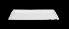 Rektangulär Tallrik -Mjukformad kant